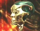 Malachite/Bronze head