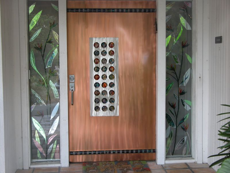 Stainless Entry Door