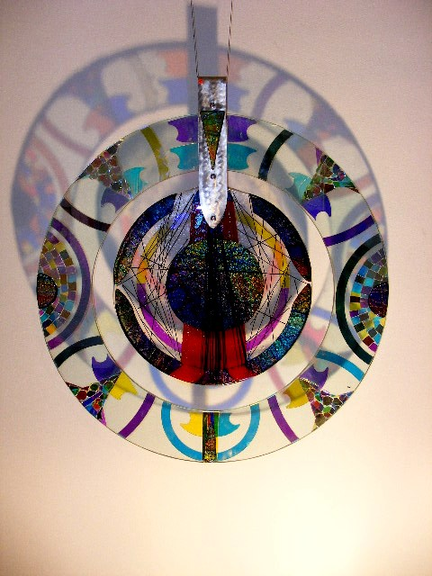 Fused Dichroic Disk - 3ft