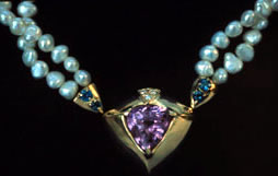 25 carat amethyst necklace